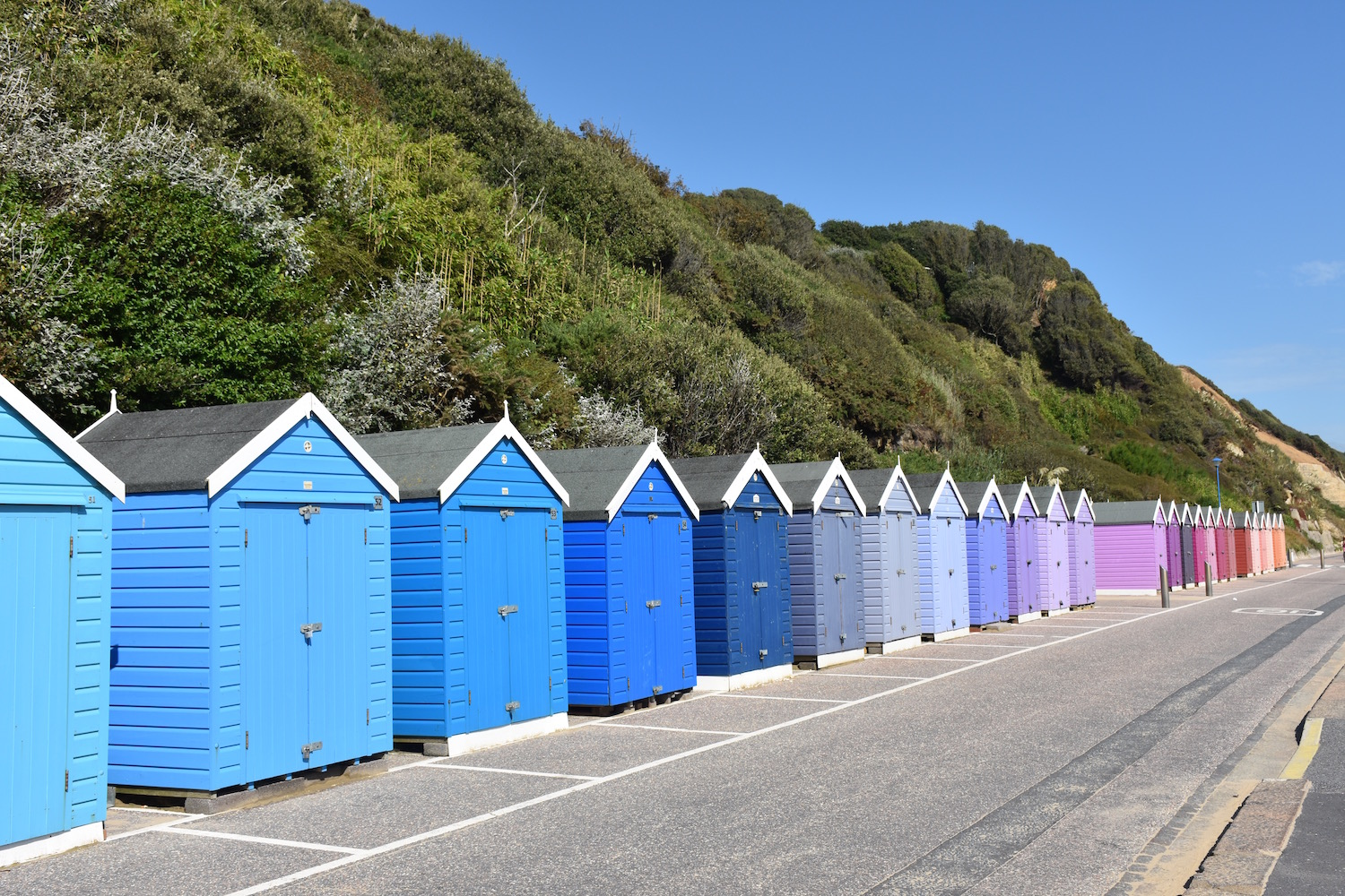 Finding The Colourful Bournemouth Beach Huts Becky Van Dijk