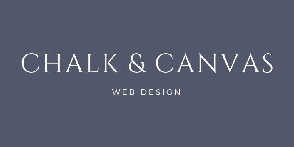 Chalk and Canvas Web Design